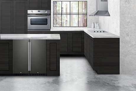 Introducing Black Stainless Steel For Undercounter Refrigeration Summit Appliance
