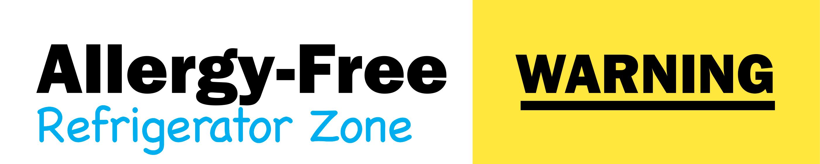 Allergy-Free Zone