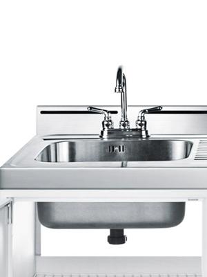 Kiitchenette detaiil Sink