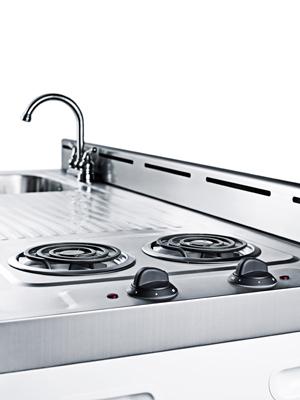Kitchenette 2 burner Cooktop