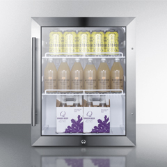 Commercial outdoor refrigeration