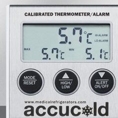 Thermometer alarm