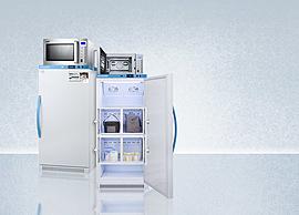 Refrigerator-Microwave Combinations