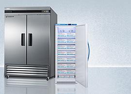 Solid Door Pharmacy Refrigerators