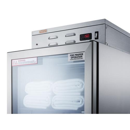 PHC115G Warming Cabinet Detail