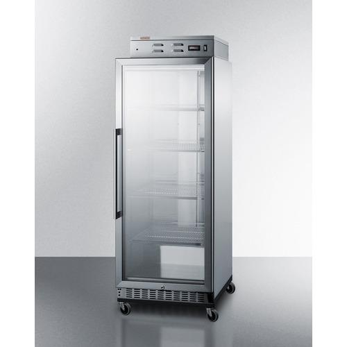 PHC115G Warming Cabinet Angle
