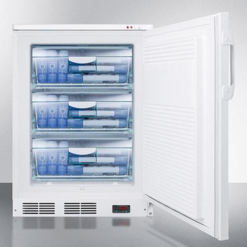 VT65MLBIVAC Freezer Full