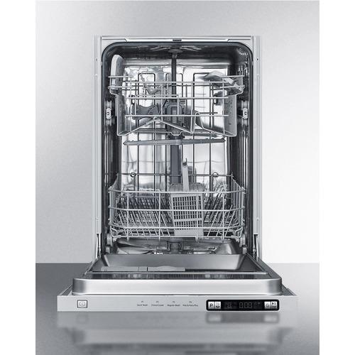 DW18SS Dishwasher Open