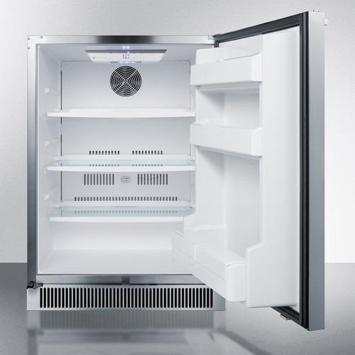 CL68ROS Refrigerator Open
