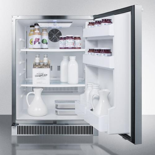 CL68ROS Refrigerator Full