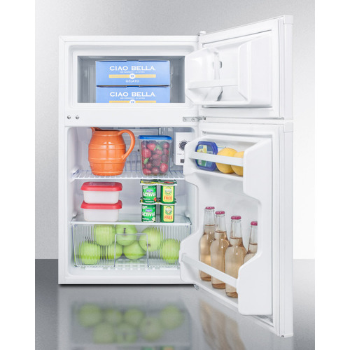 CP351W Refrigerator Freezer Full