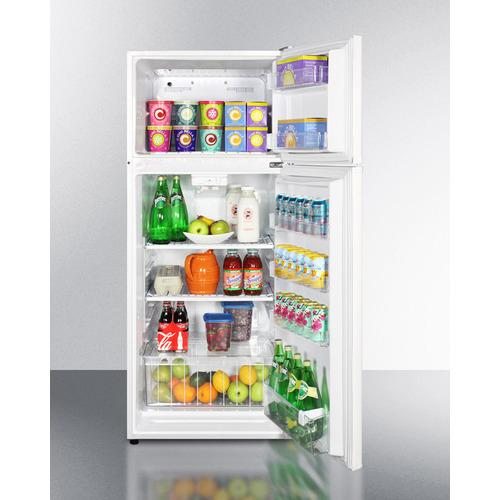 FF1118W Refrigerator Freezer Full