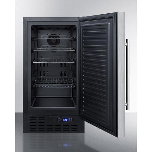 SCFF1842CSS Freezer Open