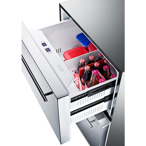 SPRF2D5IM Refrigerator Freezer Full