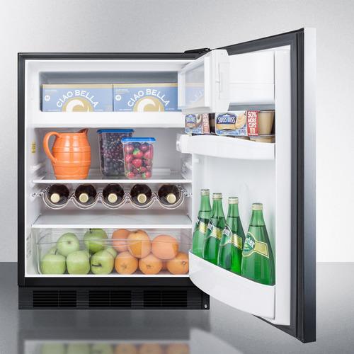 CT663BBISSHHADA Refrigerator Freezer Full