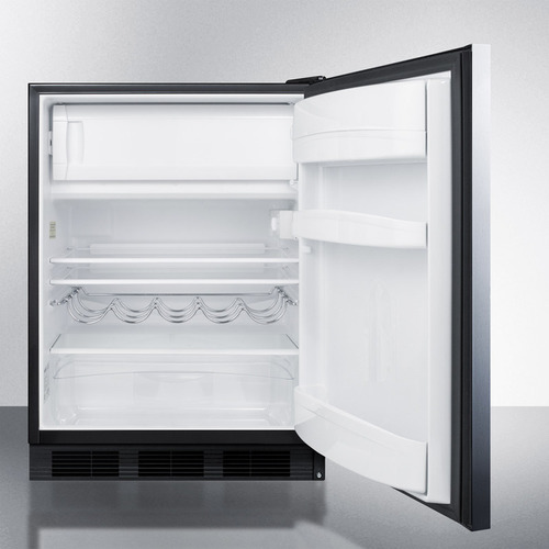 CT663BBISSHHADA Refrigerator Freezer Open