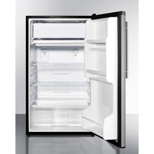 FF433ESSSHV Refrigerator Freezer Open