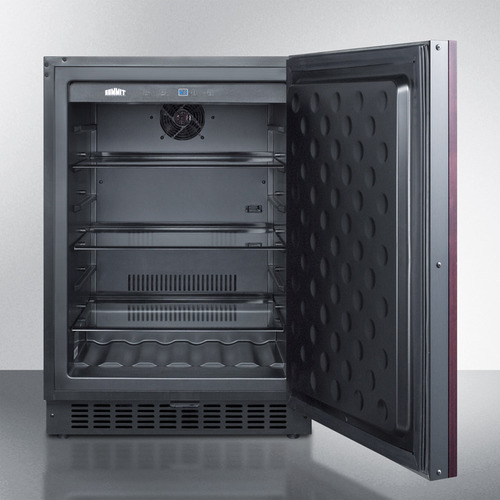FF64BIF Refrigerator Open