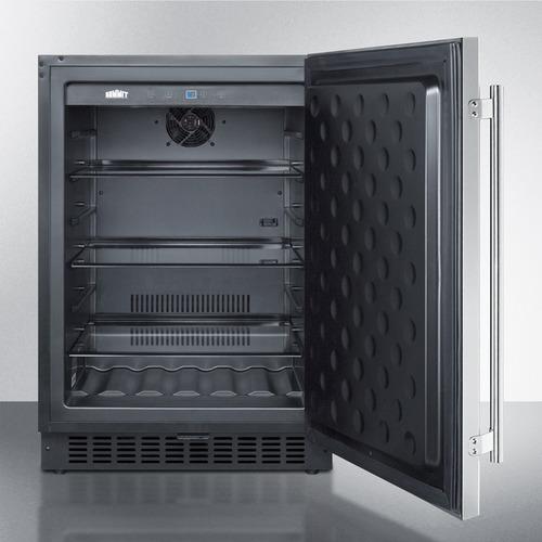 SPR627OS Refrigerator Open