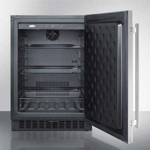 SPR627OSCSS Refrigerator Open