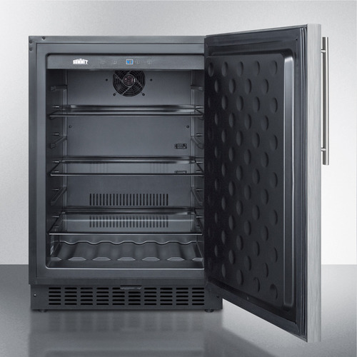 SPR627OSCSSHV Refrigerator Open