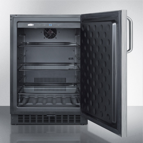 SPR627OSCSSTB Refrigerator Open