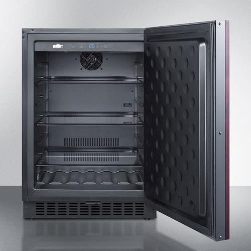 SPR627OSIF Refrigerator Open