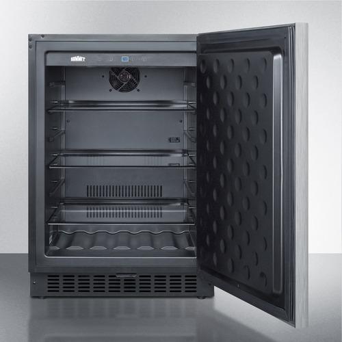SPR627OSSSHH Refrigerator Open