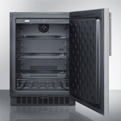 SPR627OSSSHV Refrigerator Open