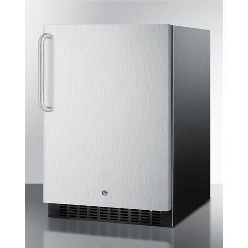 SPR627OSSSTB Refrigerator Angle