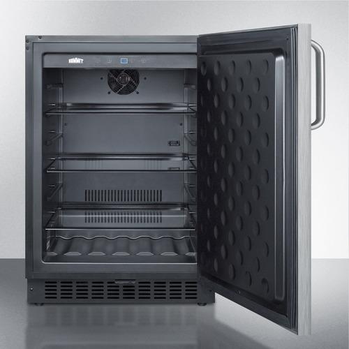 SPR627OSSSTB Refrigerator Open