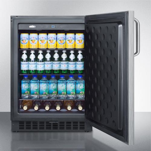 SPR627OSSSTB Refrigerator Full