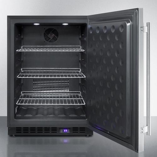 SCFF53BSS Freezer Open
