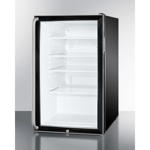 SCR500BL7SHADA Refrigerator Angle