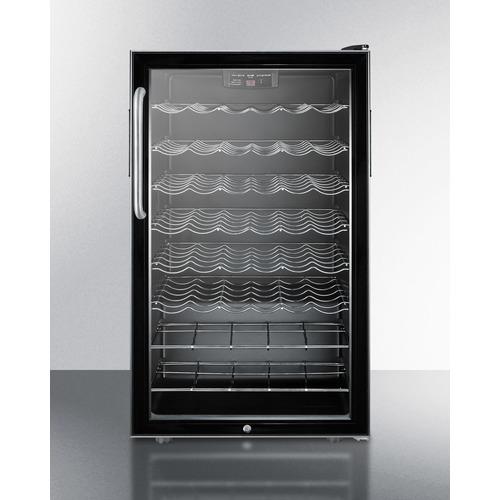SWC525LBI7TB Wine Cellar Front