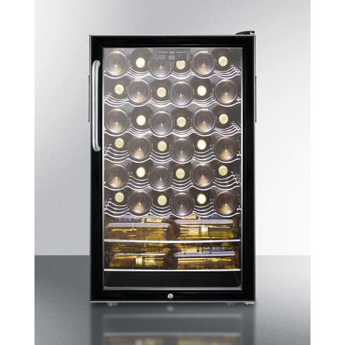 SWC525LBI7TB Wine Cellar Full