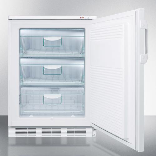 VT65MLBIMED Freezer Open