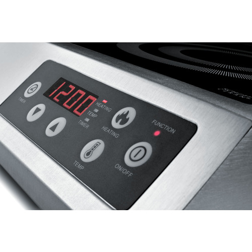 SINCCOM1 Induction Cooktop Controls