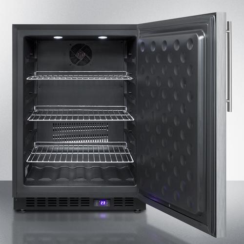 SPFF51OSCSSHV Freezer Open