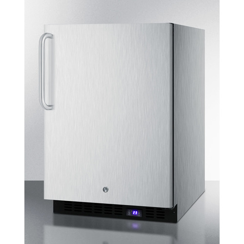 SPFF51OSCSSTB Freezer Angle
