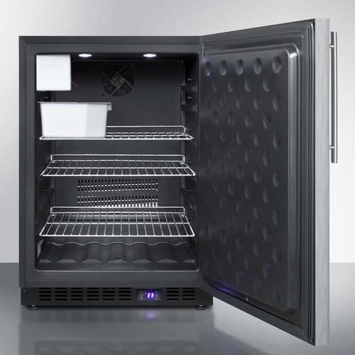 SPFF51OSSSHVIM Freezer Open