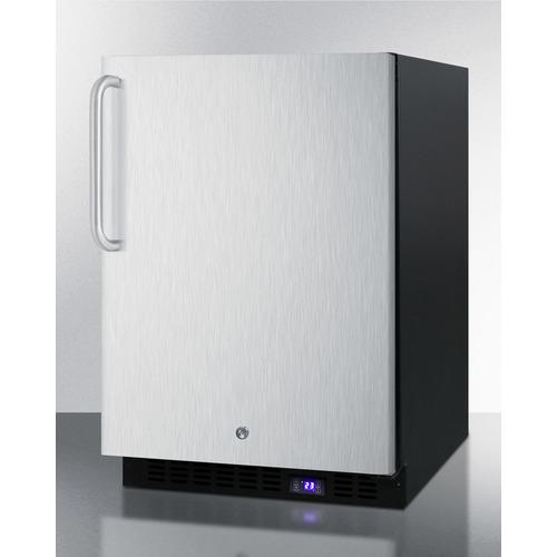 SPFF51OSSSTB Freezer Angle