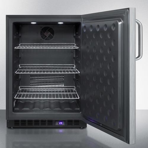 SPFF51OSSSTB Freezer Open