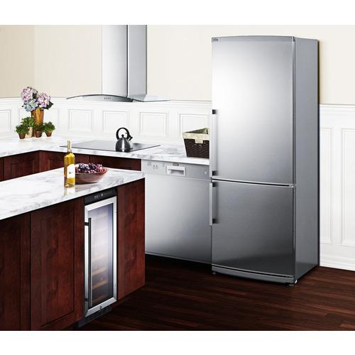 FFBF285SS Refrigerator Freezer Set