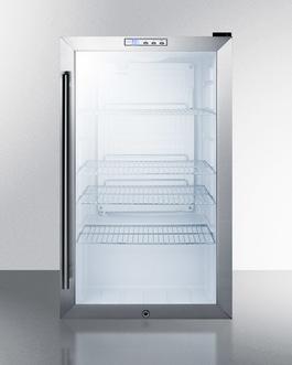 SCR486L Refrigerator Open