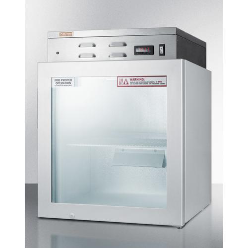 PHC51G Warming Cabinet Angle