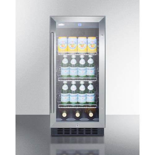 SCR1536BG Refrigerator Full