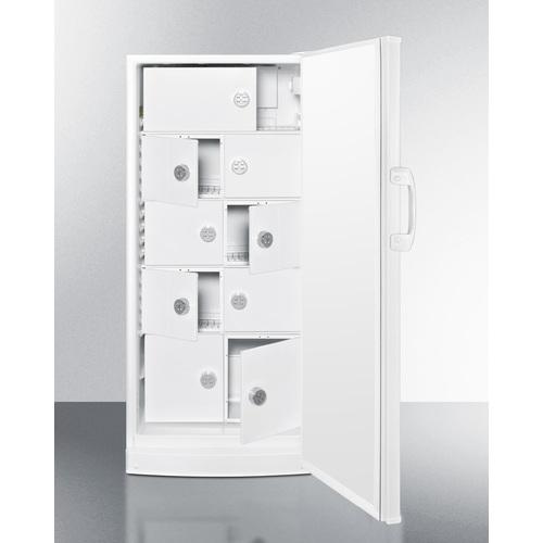 FFAR10LOCKER Refrigerator Open