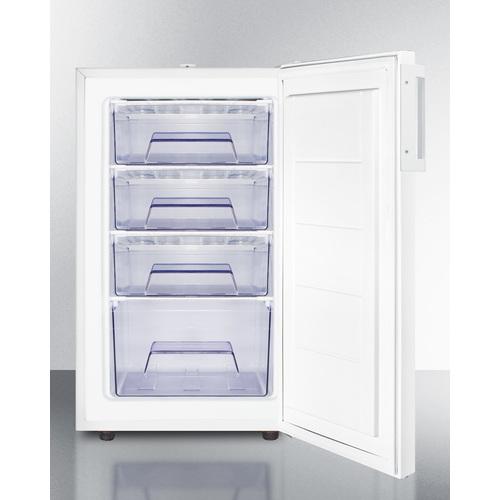 FS407LBI7ADA Freezer Open