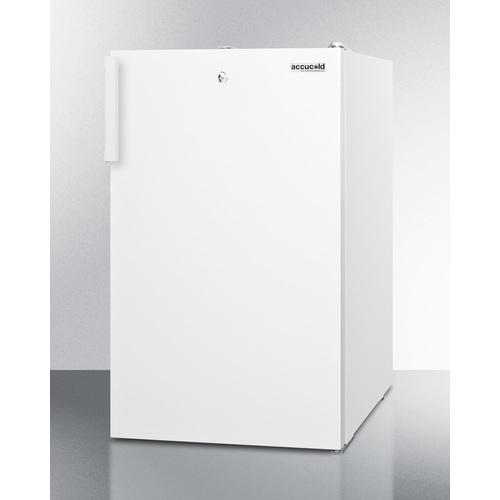 FS407LBI7ADA Freezer Angle